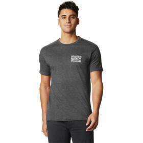 Mountain Hardwear Berkeley 93 Camiseta Manga Corta Hombre, heather black